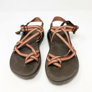 Chacos ZX2 Red Brown Classic Strap Hiking Sandals